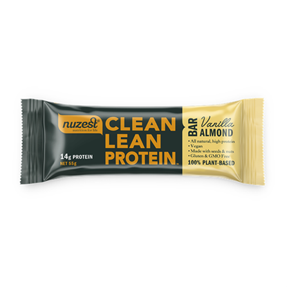 Clean Lean Protein Bar Vanilla Almond 55g 12s (CASE)