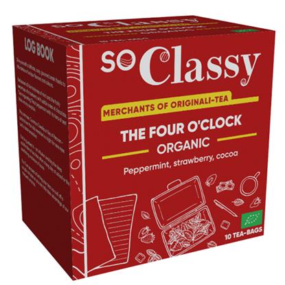 The Four O'Clock Organic Teabags 10's
