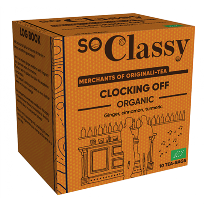 Clocking Off Organic Teabags 10's